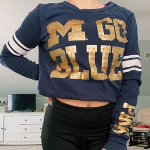 U of M PINK sweater